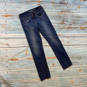 American Eagle Straight Super Stretch Jeans 2
